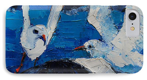The Seagulls IPhone Case