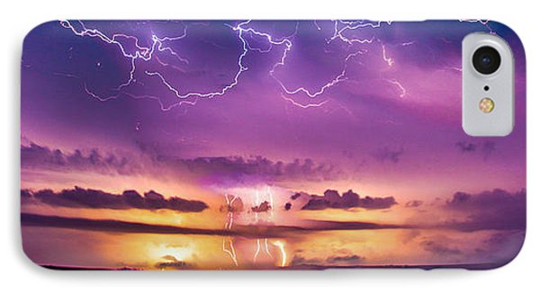 Nebraskasc iPhone 8 Case - The Sky Was Talking To Me... Part 2 by NebraskaSC