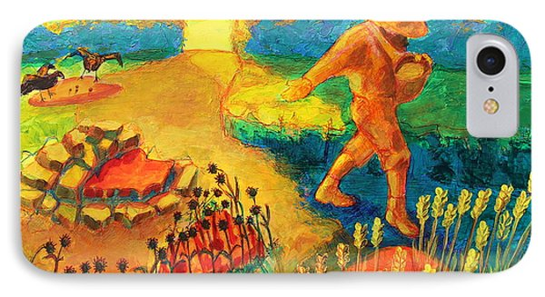 The Sower Painting By Bertram Poole IPhone Case