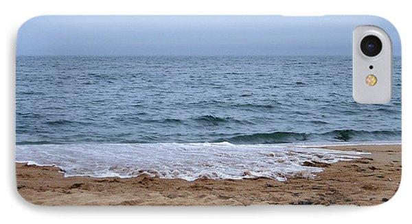 The Splash Over On A Sandy Beach IPhone Case
