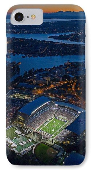 Husky Stadium At Dusk IPhone Case