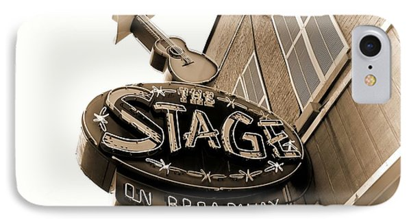 The Stage On Broadway Nashville Tennessee IPhone Case