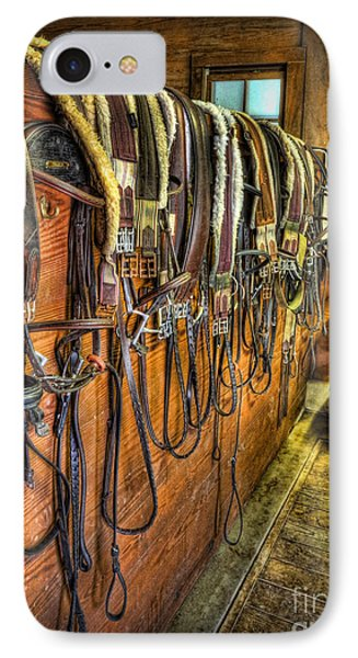 The Tack Room - Equestrian IPhone Case