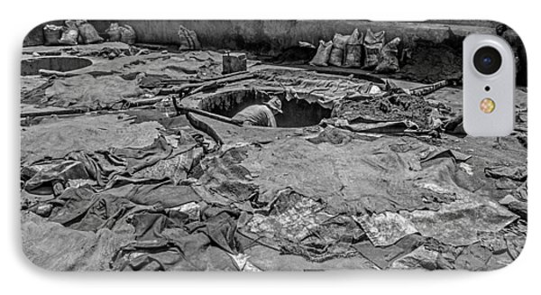 The Tanneries In Marrakech IPhone Case