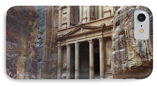 The Treasury Through The Rocks, Wadi IPhone Case