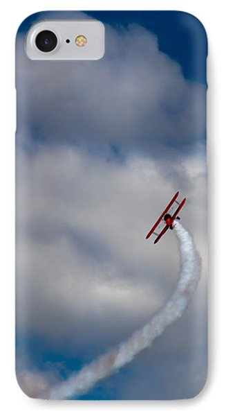 Airplane iPhone 8 Case - The Vapor Trail by David Patterson