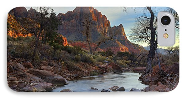 The Watchman In Winter-2 IPhone Case