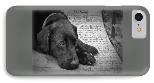 The Way Black Lab IPhone Case