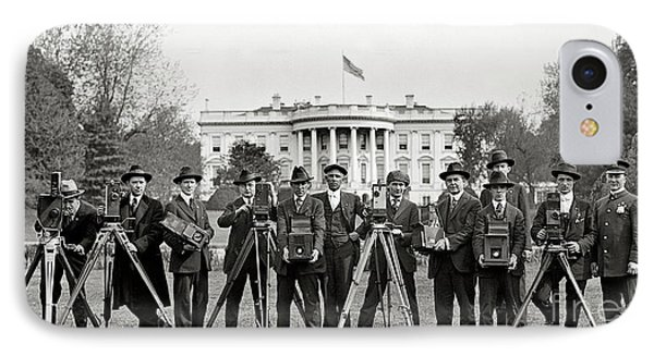 The White House Photographers IPhone Case