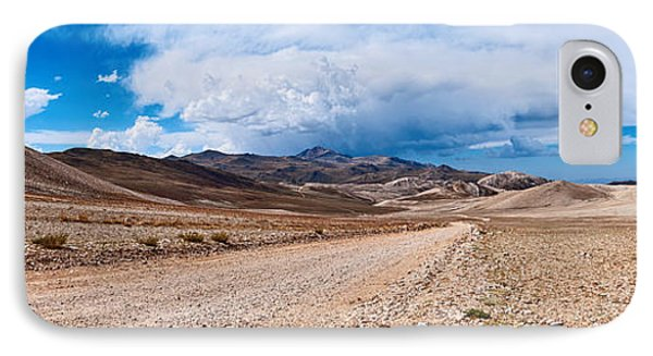 The White Mountains Panorama From The Inyo National Forest. IPhone Case