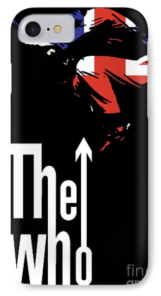England iPhone 8 Case - The Who No.01 by Geek N Rock