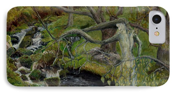 The Willow Woman Washing Her Hair IPhone Case
