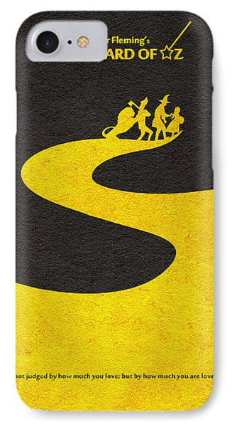 Wizard iPhone 8 Case - The Wizard Of Oz by Inspirowl Design