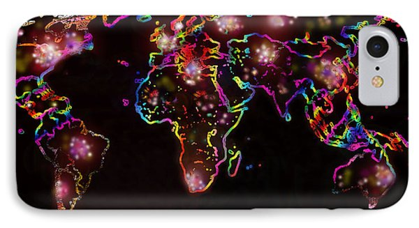 The World At Night  IPhone Case