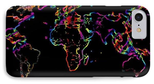 The World In The Past IPhone Case