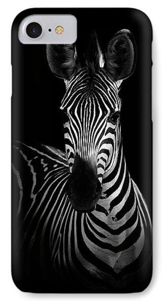Africa iPhone 8 Case - The Zebra by Wildphotoart
