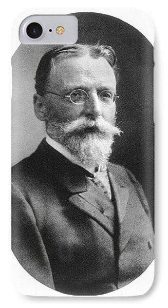 Theodor Escherich IPhone Case