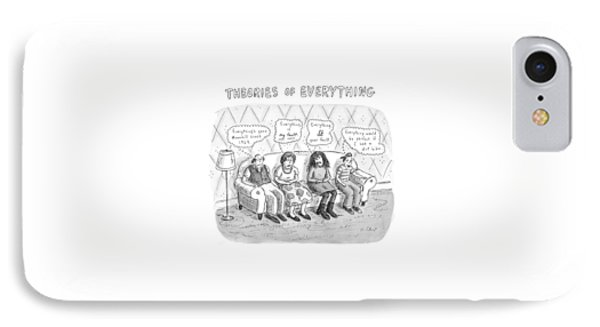 Theories Of Everything: 'everything's Gone IPhone Case