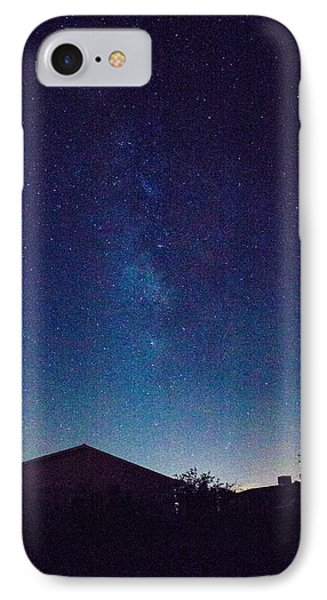 There's A Galaxy Over My House IPhone Case