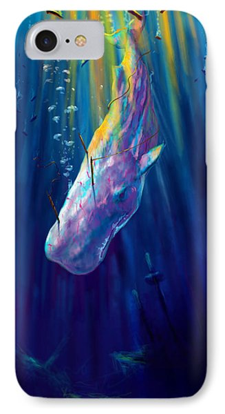 Thew White Whale IPhone Case