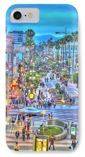 Third Street Promenade IPhone Case