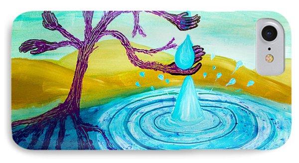Thirsty Tree 2 IPhone Case