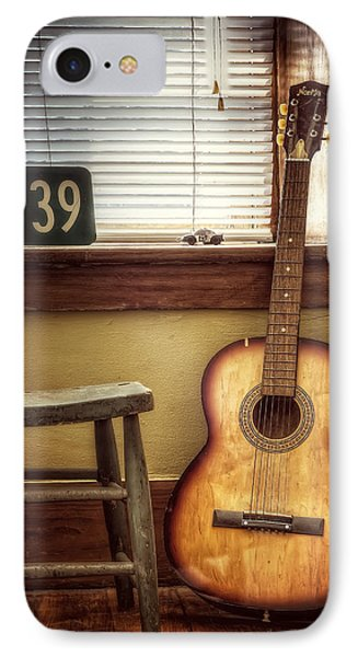 Guitar iPhone 8 Case - This Old Guitar by Scott Norris