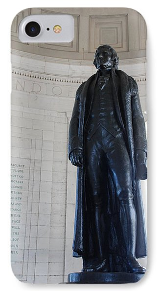 Thomas Jefferson Statue IPhone Case