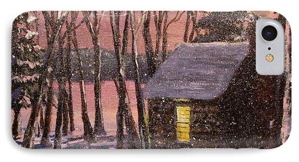 Thoreau's Cabin IPhone Case