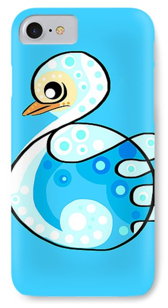 Thoughts And Colors Series Duckling IPhone Case