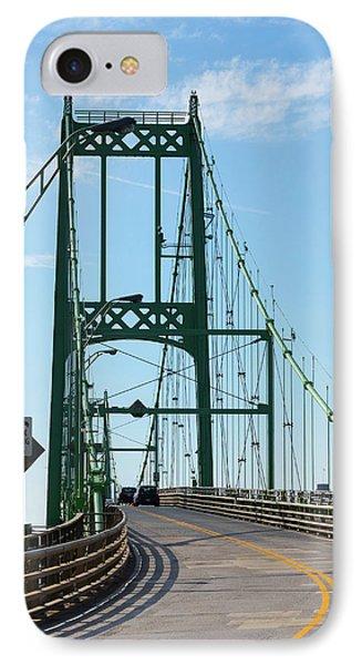 Thousand Islands International Bridge IPhone Case