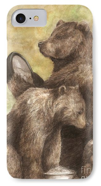 Three Bears IPhone Case