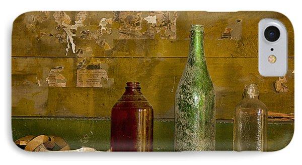 Three Bottles On A Mantel IPhone Case