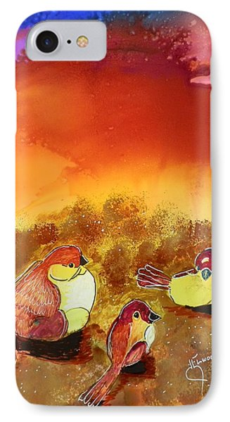 Three Little Birdies IPhone Case