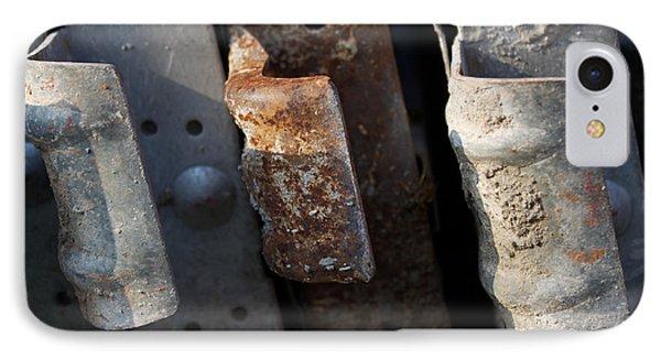Three Shades Of Rust IPhone Case
