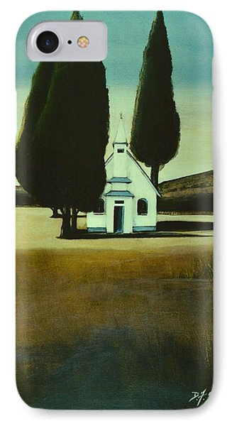 Three Trees And A Church IPhone Case