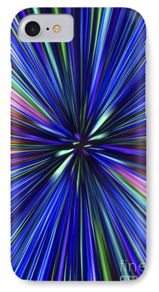 Through The Wormhole.. IPhone Case