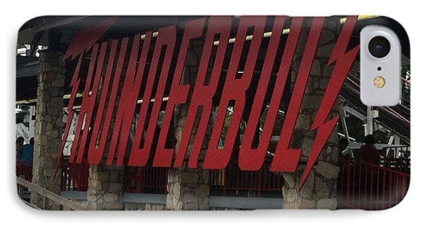 Thunderbolt Roller Coaster IPhone Case