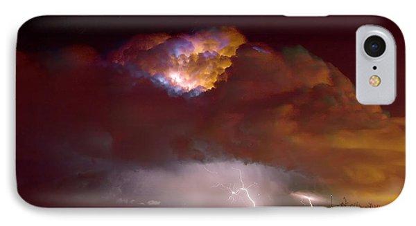 Thunderstorm Boulder County Colorado   IPhone Case