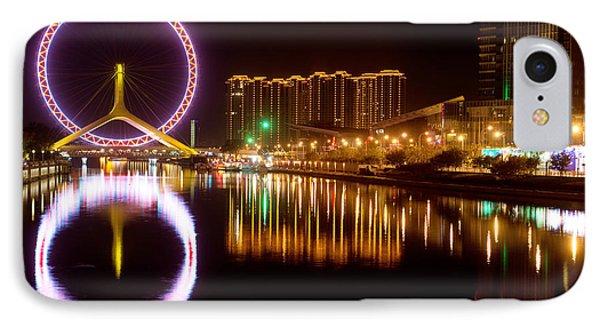Tianjin Eye IPhone Case