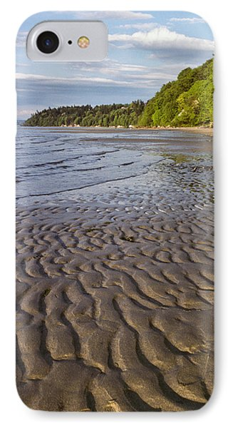 Tidal Pattern In The Sand IPhone Case