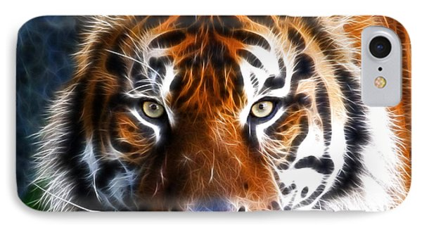 Tiger Close Up IPhone Case