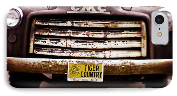 Tiger Country - Purple And Old IPhone Case