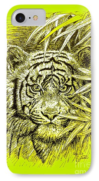 Tiger - King Of The Jungle IPhone Case
