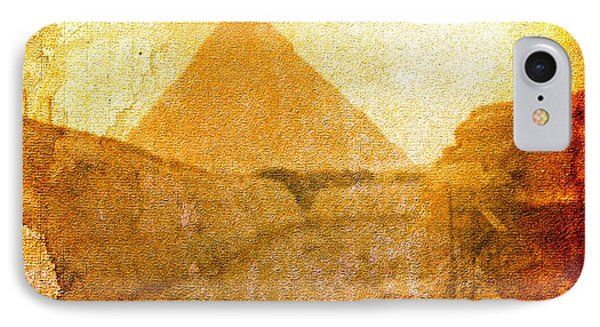 Time Fears The Pyramids IPhone Case