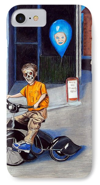 Timmy's New Tricycle IPhone Case