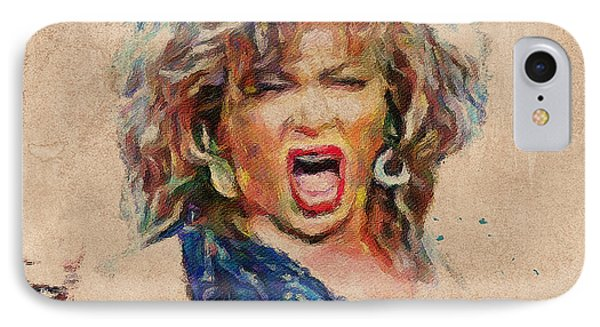 Tina Turner Portrait You Are The Best 1 IPhone Case