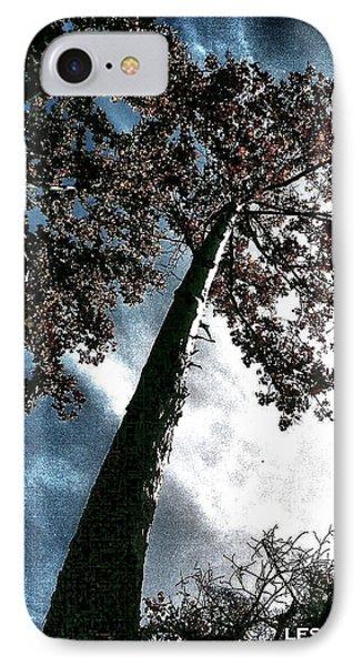 Tippy Top Tree II Art IPhone Case