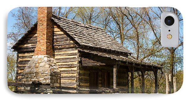 Tipton Hays Log Cabin 10 IPhone Case