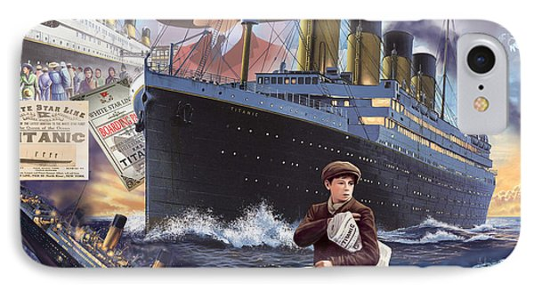 Titanic - Landscape IPhone Case